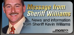 Message from Sheriff Williams